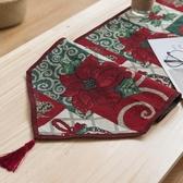 8折免運 聖誕桌旗美式鄉村桌布桌巾桌墊餐墊地中海桌旗桌布桌巾桌墊