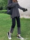 直筒黑色牛仔褲女寬鬆高腰顯瘦小個子加絨煙管褲子2020年秋冬新款 果果輕時尚