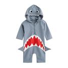 男女童 可愛鯊魚造型 連身泳裝 y7051