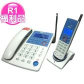 R1【福利品】三洋無線親子機CLT-9091白