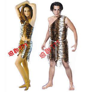 土著人服裝虎皮紋野人服裝