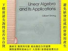 二手書博民逛書店linear罕見algebra and its applications(P357)Y173412