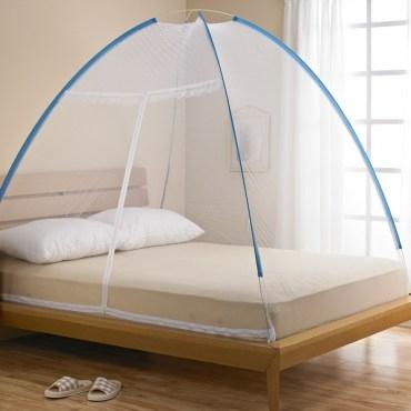 便利型蒙古包蚊帳(床包式)-雙人 150x190cm