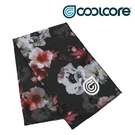 COOLCORE CHILL SPORT 涼感運動巾 黑色花卉 FLORAL PRINT (涼感運動毛巾、降溫、運動、運動巾)
