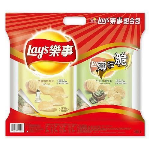 樂事洋芋片組合包4包【愛買】