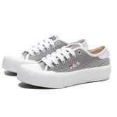 FILA  BISCUITC 灰 燈芯絨 餅乾鞋 休閒鞋 女 (布魯克林)  5C910T411