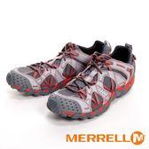 MERRELL WATERPRO MAIPO 黃金大底 水陸兩棲運動男鞋-淺灰紅