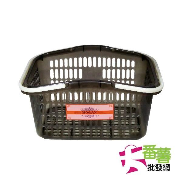 【台灣製】摩根手提籃 大 NO-1723/手提籃/置物籃 [35-1] - 大番薯批發網