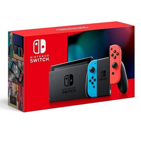 【神腦生活】任天堂 Switch 紅藍主機 (電池加強