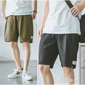 日系復古男士5分褲夏季潮牌港風運動沙灘褲五分褲短褲【小艾新品】