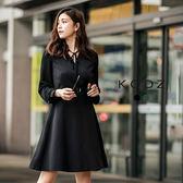 東京著衣【KODZ】雜誌款經典微性感設計洋裝-S.M.L(171996)