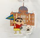 【震撼精品百貨】蠟筆小新_Crayon Shin-chan~小新壓克力鑰匙圈-東京車站#29828
