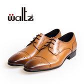 Waltz-經典復古雕花德比鞋212169-06(棕)
