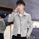 外套男2020春季新款韓版褂子個性春秋裝帥氣潮流上衣百搭工裝夾克