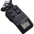凱傑樂器 ZOOM H6 BLACK 專業型錄音筆 手持 錄音機 2020新版