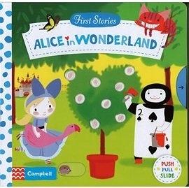 【 First Stories 童話故事(幼兒版)】ALICE IN WONDERLAND /操作書 (愛麗絲夢遊仙境)