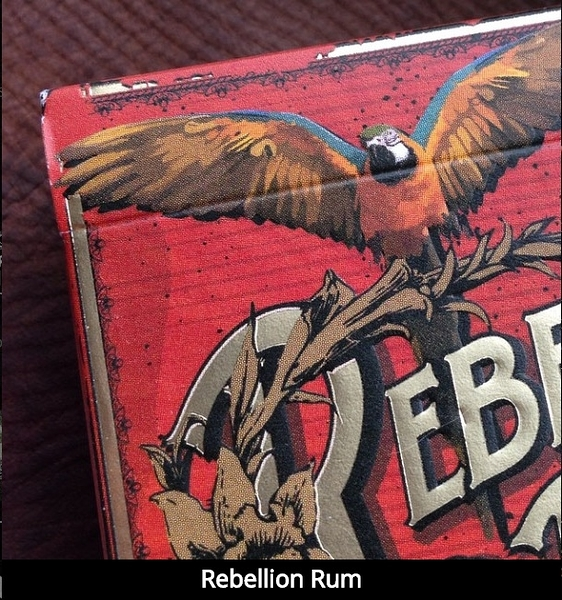 【USPCC 撲克】撲克牌 Rebellion playing cards. (Rum deck)
