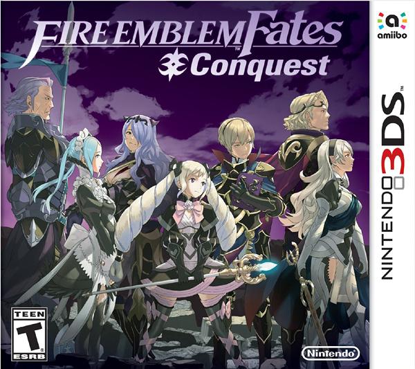 3DS Fire Emblem Fates Conquest 聖火降魔錄 if 暗夜王國(美版代購)