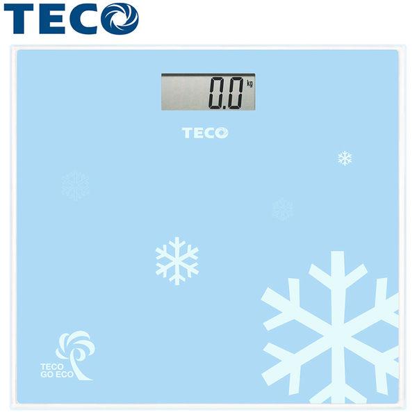 【TECO 東元】歐風電子體重計(XYFWT681)