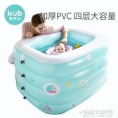 游泳池 可優比嬰兒游泳池充氣加厚新生兒泳池家用小孩室內戲水池寶寶泳池【1995新品】