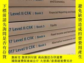 二手書博民逛書店罕見2017年CFA二級輔導教材Y378514 KPLAN UN