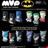 4個一組【日本正版】MVP 蝙蝠俠 造型公仔 盒玩 擺飾 小丑女 小丑 貓女 DC漫畫 - 549583