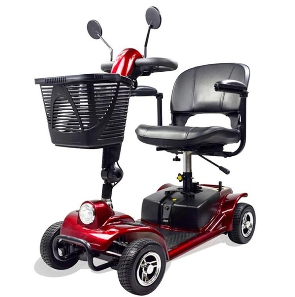 老人代步車可折疊四輪電動車 微愛家居