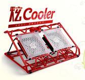 筆電散熱器14寸15.6電腦散熱底座支架墊 BF1089【旅行者】