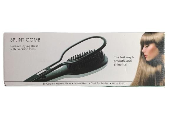 SPLINT COMB炫光女神多功能整髮器 兩用整髮神器(附直版夾) 4段溫度設定 過熱斷電保護【淨妍美肌】