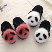 棉鞋兒童棉拖鞋包跟冬女童冬季保暖可愛防滑軟底男童小孩拖鞋室內冬天