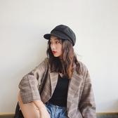 貝雷帽女英倫日系畫家帽黑色百搭【奇趣小屋】