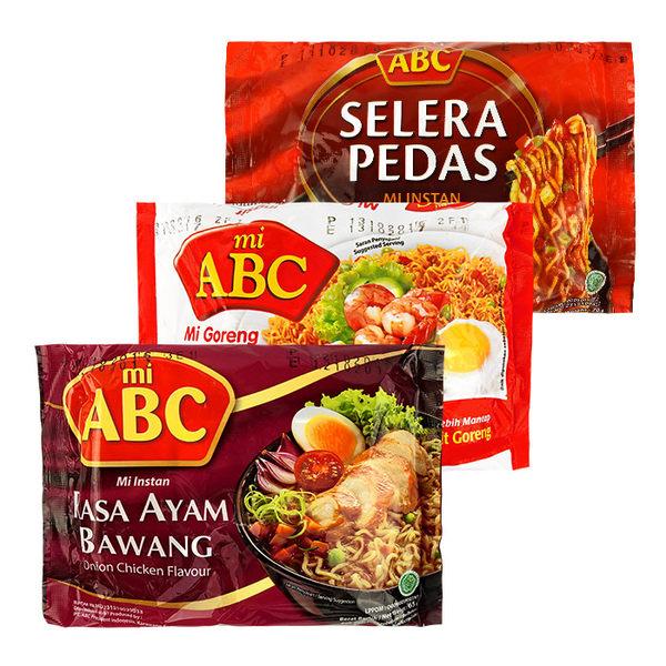 ABC 檸檬雞味炒麵/炒麵王/咖哩雞味/辣味茄汁味/蔥燒雞味湯麵 團購/泡麵 ◆86小舖 ◆