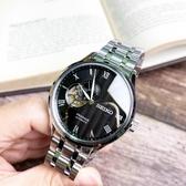 SEIKO日本精工Presage日式庭園系列鏤空自動上鍊機械腕錶4R39-00W0D/SSA377J1公司貨