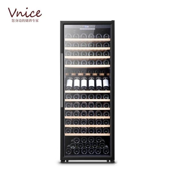 VNICE VN-160T紅酒櫃恒溫酒櫃冰吧客廳家用恒濕壓縮機儲酒冷藏櫃【美鞋公社】