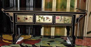 新古典後現代手繪中式 小電視櫃