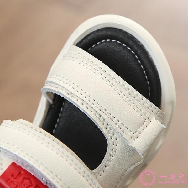 學步鞋 2019新款韓版夏季男女童涼鞋寶寶軟底學步鞋中小童防滑兒童沙灘鞋