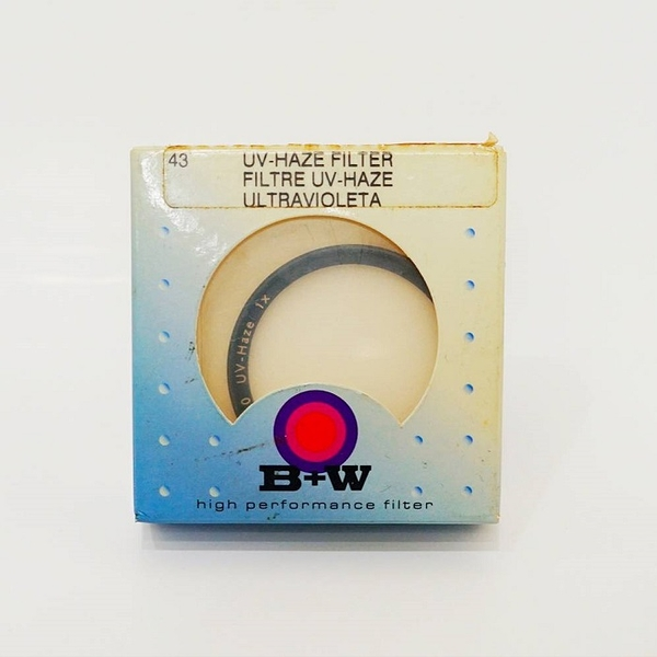 【震博】B+W 43mm UV保護鏡 ~~振興五倍券 5倍券~~