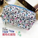 ☆小時候創意屋☆ 迪士尼 正版授權 大頭 史迪奇 TSUM TSUM 帆布 化妝包 筆袋 收納包 鉛筆盒