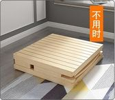 折疊床單人床成人實木床雙人午休床1.2米經濟型家用木板床簡易床 MKS聖誕滿1件聖誕1件免運