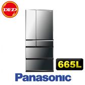 國際牌 Panasonic NR-F672WX-X1 冰箱 鑽石黑 665L 日本進口 公司貨 ※運費另計(需加購)