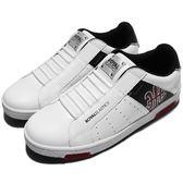 Royal Elastics 休閒鞋 Icon 白 黑 藍 圖騰設計 無鞋帶設計 皮革鞋面 男鞋【PUMP306】 02081019