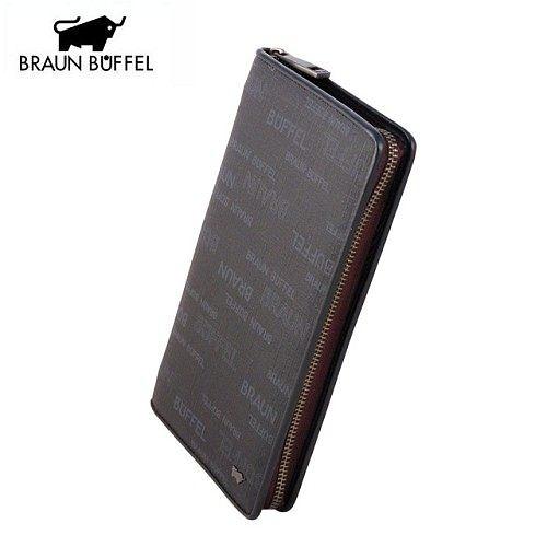A0884《BRAUN BUFFEL》飛行系列拉鍊式旅行夾 Zipper Travel Organiser(黑色)