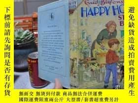 二手書博民逛書店精裝帶書衣,Happy罕見Hours Story Book,海量