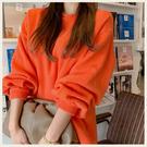 ✦Styleon✦正韓。柔軟羊毛後領小細節長版長袖圓領毛衣上衣。韓國連線。韓國空運。1016。