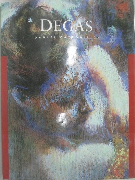 【書寶二手書T5/藝術_D1W】Degas_Daniel Catton Rich