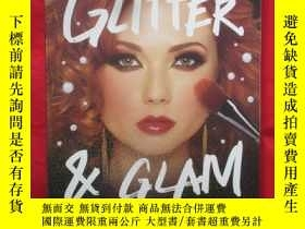 二手書博民逛書店Glitter罕見and Glam: Dazzling Make