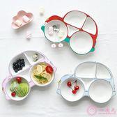 兒童餐盤分格卡通寶寶餐具陶瓷創意盤子可愛家用汽車盤抖音同款