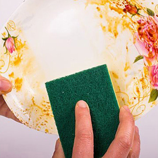 海綿 菜瓜布 洗碗 廚房清潔 百潔布 海綿擦 洗鍋刷 方形海綿菜瓜布 【Z185】米菈生活館