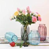 簡約現代大號透明玻璃花瓶 東京衣櫃