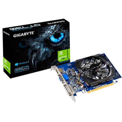 GIGABYTE 技嘉 Geforce GT730 2G SDDR5 (GV-N730D5-2GI) rev2.0 顯示卡